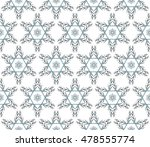 abstract snowflakes in a... | Shutterstock .eps vector #478555774