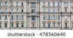 vintage facade classical... | Shutterstock . vector #478560640