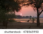 Sunset At Mana Pools National...