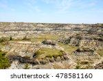 Horseshoe Canyon In Alberta...