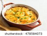 Potato Gratin  Casserole  With...