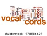vocal cords word cloud concept | Shutterstock . vector #478586629