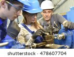 Small photo of Young people in metallurgy training