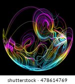 moving colorful lines of... | Shutterstock .eps vector #478614769