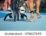 triathlon bike the transition...   Shutterstock . vector #478627693
