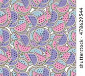 watermelon pattern. can be used ... | Shutterstock .eps vector #478629544