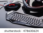 a gaming keyboard  mouse and... | Shutterstock . vector #478630624