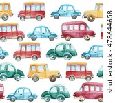 watercolor seamless pattern of... | Shutterstock . vector #478644658