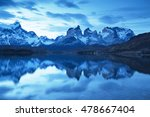 torres del paine national park  ... | Shutterstock . vector #478667404