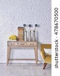 modern brick wall board... | Shutterstock . vector #478670500