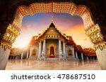 the marble temple wat... | Shutterstock . vector #478687510