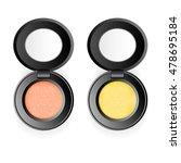 black plastic boxes of eye... | Shutterstock .eps vector #478695184