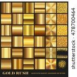 gold rush   set of gold... | Shutterstock .eps vector #478700464