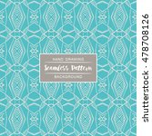 seamless patterns backgrounds.... | Shutterstock .eps vector #478708126