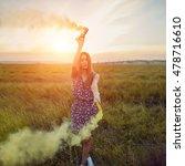 beautyful teenage model girl... | Shutterstock . vector #478716610