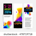 abstract template with... | Shutterstock .eps vector #478719718