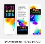 abstract template with... | Shutterstock .eps vector #478719730
