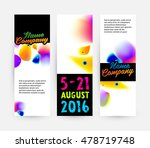 abstract template with... | Shutterstock .eps vector #478719748