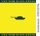 tank icon. | Shutterstock .eps vector #478725796