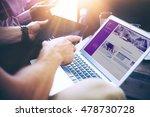 business team brainstorming... | Shutterstock . vector #478730728