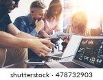 startup diversity teamwork... | Shutterstock . vector #478732903