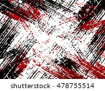 grunge lines texture   isolated ... | Shutterstock .eps vector #478755514