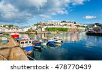 fishing boats in the... | Shutterstock . vector #478770439