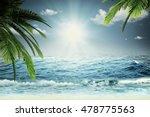 beautiful sea  summer travel... | Shutterstock . vector #478775563