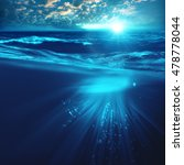 deep ocean  marine backgrounds... | Shutterstock . vector #478778044