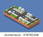 3d isometric three dimensional... | Shutterstock .eps vector #478782208