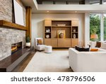 beautiful living room interior... | Shutterstock . vector #478796506