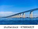 Rio Niteroi Bridge In Guanabara ...