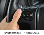 control buttons in car | Shutterstock . vector #478810018