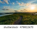 path over hill on muttonbird... | Shutterstock . vector #478812670