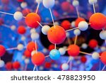 colored balls symbolizing water ... | Shutterstock . vector #478823950