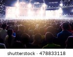 blurred image of audience crowd ... | Shutterstock . vector #478833118