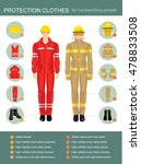 info graphics with professional ... | Shutterstock .eps vector #478833508