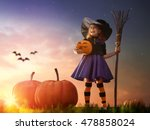 Happy Halloween  Cute Little...