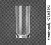 vector empty realistic drinking ... | Shutterstock .eps vector #478868893