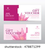 gift voucher template for spa ... | Shutterstock .eps vector #478871299