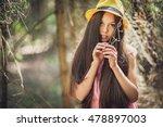 ukrainian girl   Shutterstock . vector #478897003