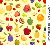miscellaneous vector colored... | Shutterstock .eps vector #478902334
