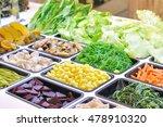 various vegetables mixed on... | Shutterstock . vector #478910320
