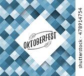 oktoberfest typographic design... | Shutterstock .eps vector #478914754