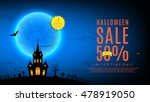 Halloween Sale Web Banner....