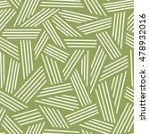 vector seamless linear pattern. ... | Shutterstock .eps vector #478932016