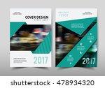 vector green annual report... | Shutterstock .eps vector #478934320
