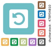 flat rotate left icons on... | Shutterstock .eps vector #478954810