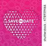 save the date card template ...   Shutterstock .eps vector #478959466