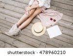 fashionable female accessories... | Shutterstock . vector #478960210